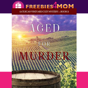 🍷Free eBook: Aged for Murder ($0.99 value)