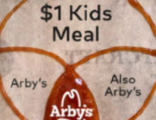 🍟$1 Kids Meal at Arby's With Meal Purchase