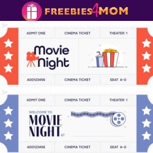 📺Free Printable Movie Night Custom Tickets + Game