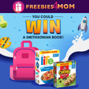 📚Sweeps Explore With Quaker (ends 9/10)