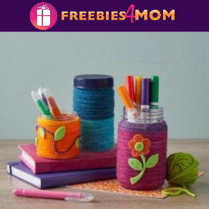 🌈Free In-Store Event Yarn Wrapped Jar at Michaels 8/1