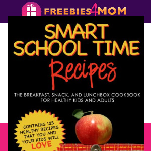 🍎Free eBook: Smart School Time Recipes ($0.99 value)