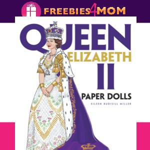 🎎Free Printable Queen Elizabeth II Paper Dolls