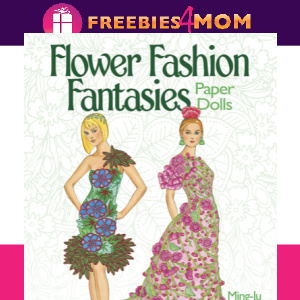 🌺Free Printable Flower Fashion Fantasies Paper Dolls