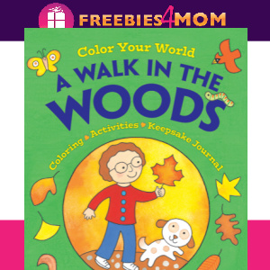 🌲Free Kids Printable: A Walk In The Woods Coloring & Activity Pages (ages 5+)