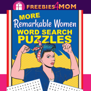 👩Free Printable Puzzles: Remarkable Women Word Search