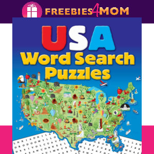 🦅Free Printable Puzzles: USA Word Search