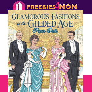 🎎Free Printable Glamorous Fashions of the Gilded Age Paper Dolls