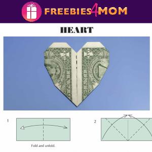 💵Free Printable Puzzles: Dollar Bill Origami
