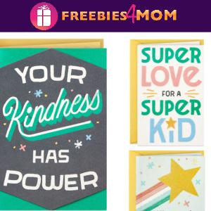 🌈Free 3 Hallmark Little World Changers Cards