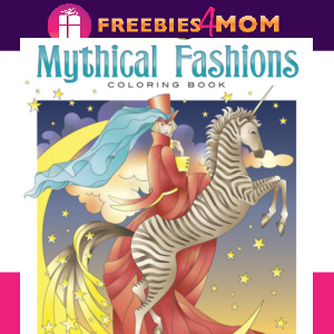 ⚡Free Printable Adult Coloring: Mythical Fashions