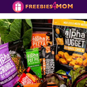 🥬Free Alpha Foods Product (coupon by mail)