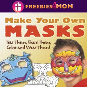🐸Free Kids Printable: Make Your Own Masks
