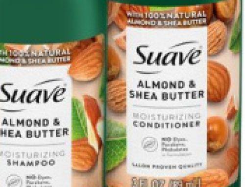 🥥Free Sample Suave Almond & Shea Butter