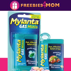 💊Free Sample or Coupon Mylanta Gas Minis