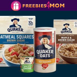 🥣Sweeps Quaker Feeding America (ends 12/31)