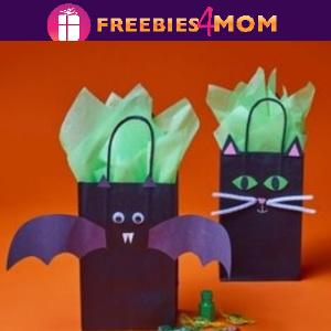 🎃Free Take & Make at Michaels: Halloween Treat Bags