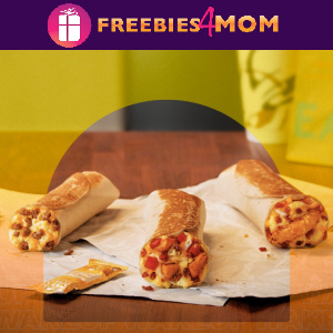 🌮Free Toasted Breakfast Burrito at Taco Bell 10/21