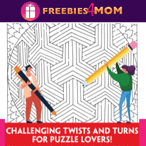 ⬇️Free Printable Puzzles: Mind-Bending Mazes