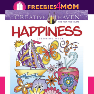 🌈Free Printable Adult Coloring: Happiness