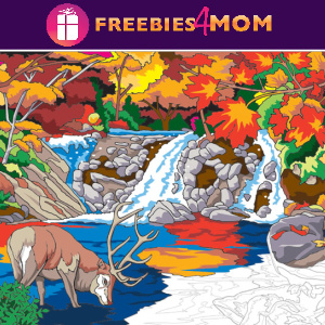 🍁Free Printable Adult Coloring: Autumn Inspirations (color by number)