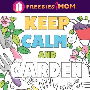 🌹Free Printable Adult Coloring: Keep Calm . . .
