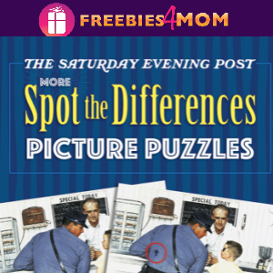 📰Free Printable Puzzles: More Spot the Differences Picture Puzzles