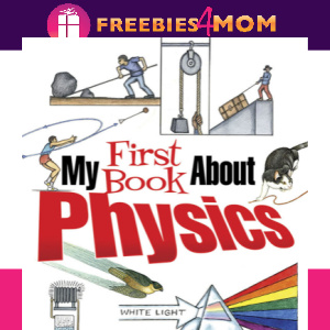 🚀Free Kids Printable: My First Book About Physics (ages 8-12)