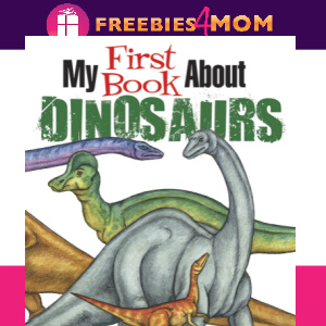 🦕Free Kids Printable: My First Book About Dinosaurs (ages 8-12)