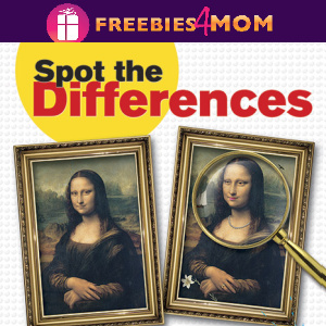 🔎Free Kids Printable: Spot the Differences Art Masterpiece Picture Puzzles (ages 8-11)