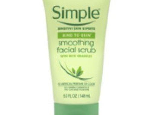 🧼Free Sample Simple Smoothing Facial Scrub